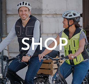 Airbag-Systeme für Fahrradfahrer